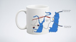 Mug Designs - Old and new address